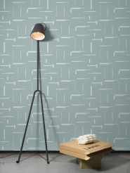 LAVMI wallpaper Gap mint grey