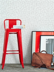 papier peint LAVMI labyrinthe