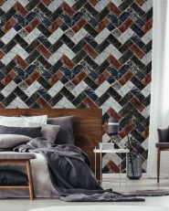Premium wallpaper Herringbone