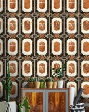 Premium wallpaper Waldorf Ochre