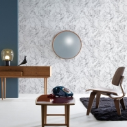 White grey marble wallpaper