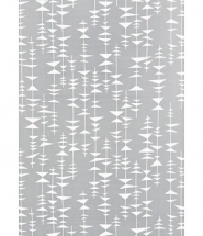 Miss Print wallpaper Ditto Dusty grey