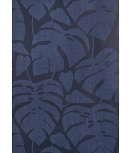 Miss Print wallpaper Guatemala Cobalt