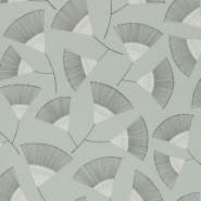 Miss Print wallpaper Persia grey