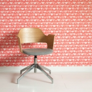Miss Print wallpaper Allsorts red