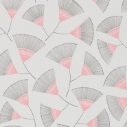 Miss Print wallpaper Persia grey pink