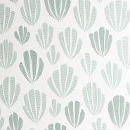 Miss Print wallpaper Hoja blue