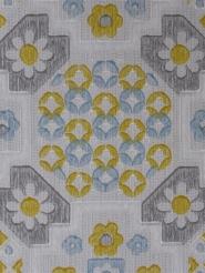 Blue yellow grey flowers