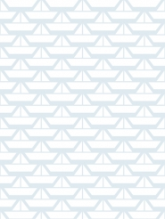 LAVMI wallpaper Boats blue white