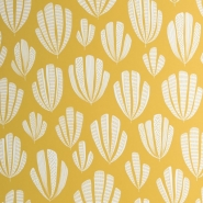 Miss Print wallpaper Hoja jaune
