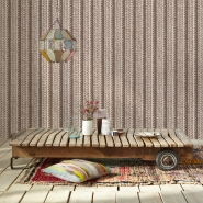 Tricot imitation wallpaper beige