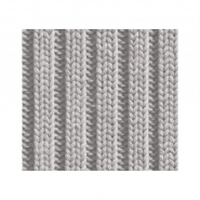 Tricot imitation wallpaper grey