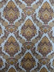 brown damask vintage wallpaper