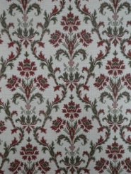 green bordeaux damask vintage wallpaper