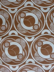 brown geometric wallaper