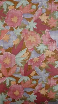 vintage floral wallpaper red pink